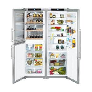 KE 嘉儀 611公升對開門冰箱 SBSes7155