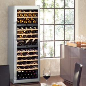 KE 嘉儀 獨立式三重箱溫紅酒櫃 WS17800